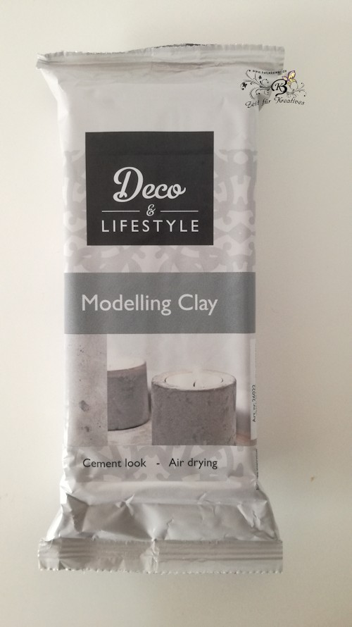 Deco & Lifestyle Modelling Clay Cement, 500g