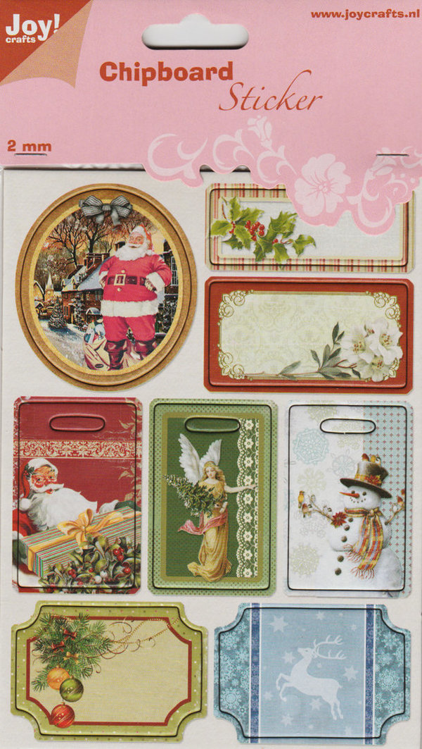 Chipboard Sticker Weihnachten 6013/1464